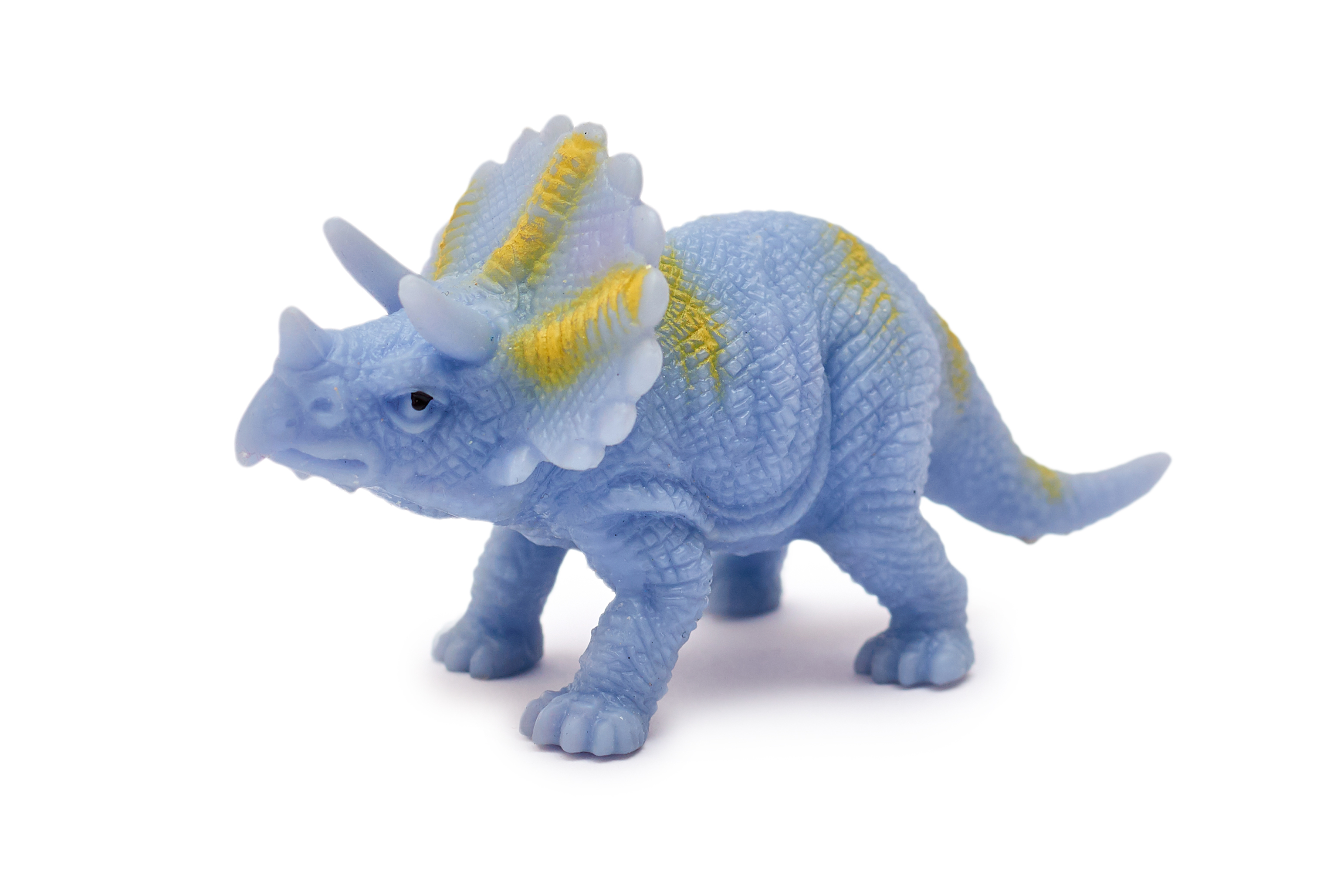 Blue Dinosaur Toy