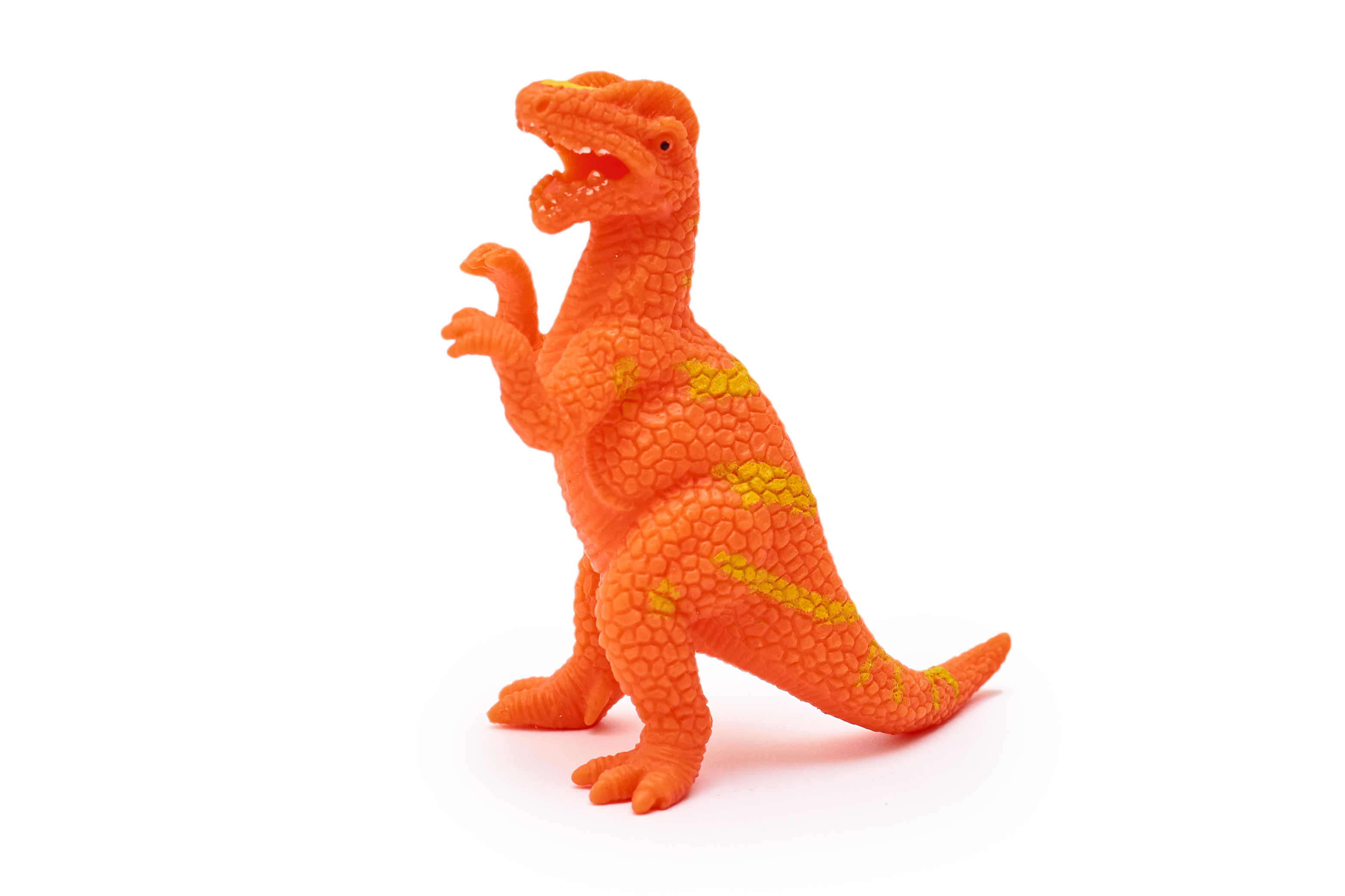 Orange Dinosaur Toy